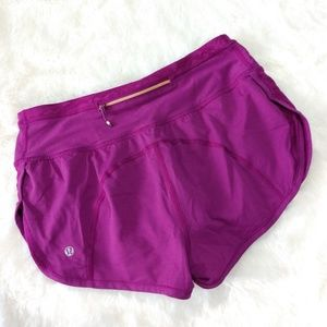 🆕 Lululemon Run For Days Shorts in Regal Plum